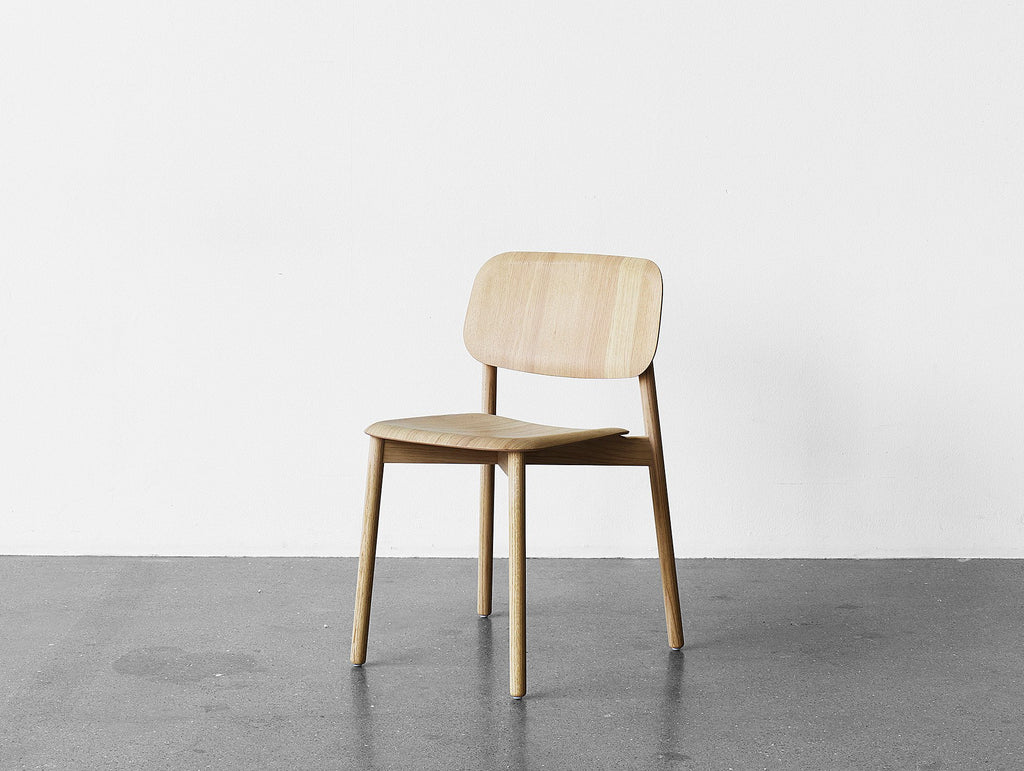 Pleasant Soft Edge 12 Wood Dining Chair By Hay Cjindustries Chair Design For Home Cjindustriesco