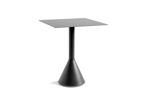 Square Anthracite Palissade Cone Table by HAY