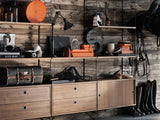 String System Chest with 2 Drawers
