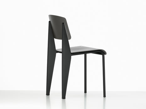 Vitra Standard SP Chair, Basalt Seat, Deep Black Base