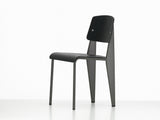 Vitra Standard SP Chair, Deep Black Seat, Basalt Base