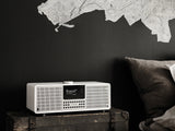 Revo SuperSystem Radio and Music Streamer - Matt White & Silver