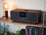 Revo SuperSystem Radio and Music Streamer - Walnut & Black