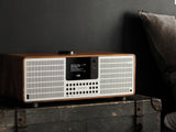 Revo SuperSystem Radio and Music Streamer - Walnut & Silver