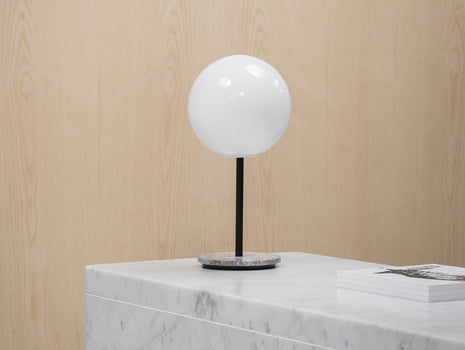 TR Tall Table Light by Menu - Shiny Bulb