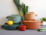 Terra.Cotto Cast Iron and Terracotta collection by Sambonet