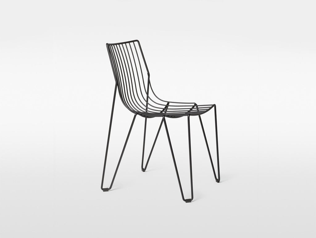 Black Tio Dining Chair by Massproductions