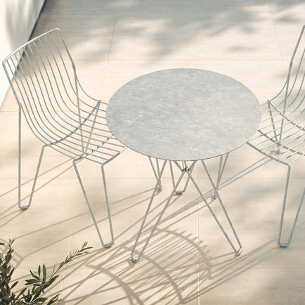 Tio Galvanised Special Editions -  Dining Chairs and Cafe Table