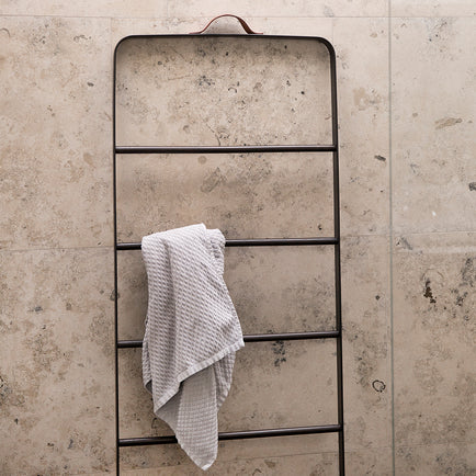Black/Dark Ash Towel Ladder by Menu