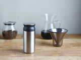 Travel Tumbler vacuum flask by Kinto - Stainless Steel