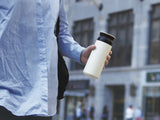 Travel Tumbler vacuum flask by Kinto - White