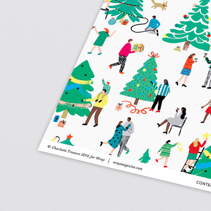 Tree Decorating Wrapping Paper by Wrap