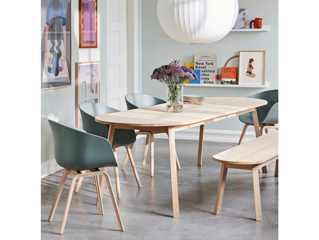 Triangle Leg Table By Hay Really Well Made