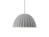Muuto Under the Bell Pendant Light - Grey Melange 55 cm