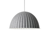 Muuto Under the Bell Pendant Light - Grey Melange 82 cm