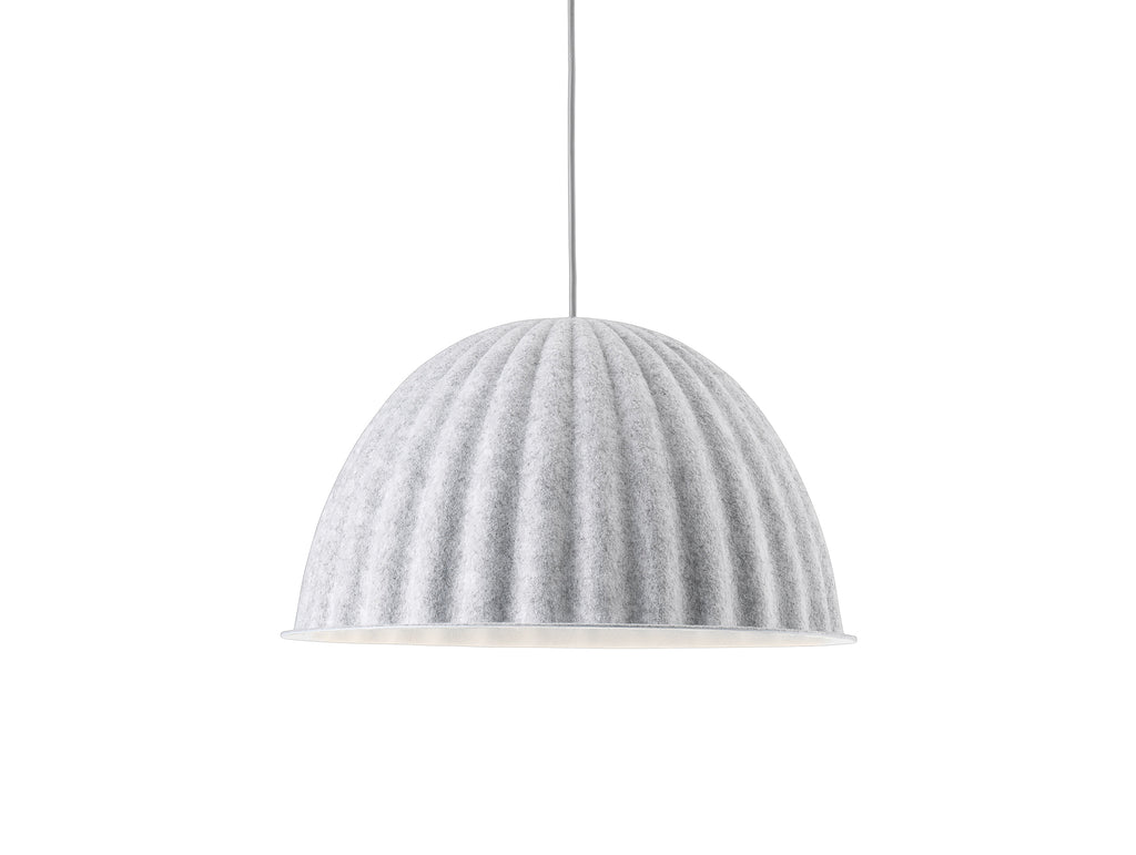Muuto Under the Bell Pendant Light - White Melange 55 cm