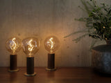 Voronoi I - 2 Watt Tinted LED bulb by Tala