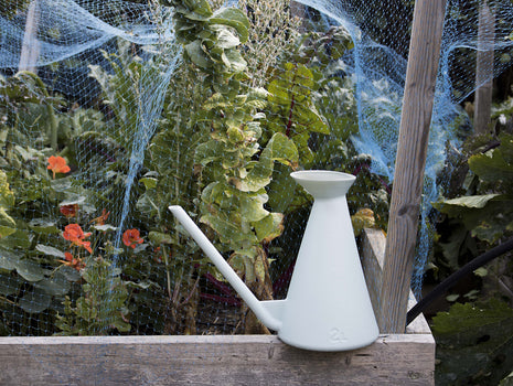 Light Grey Watering Can by HAY
