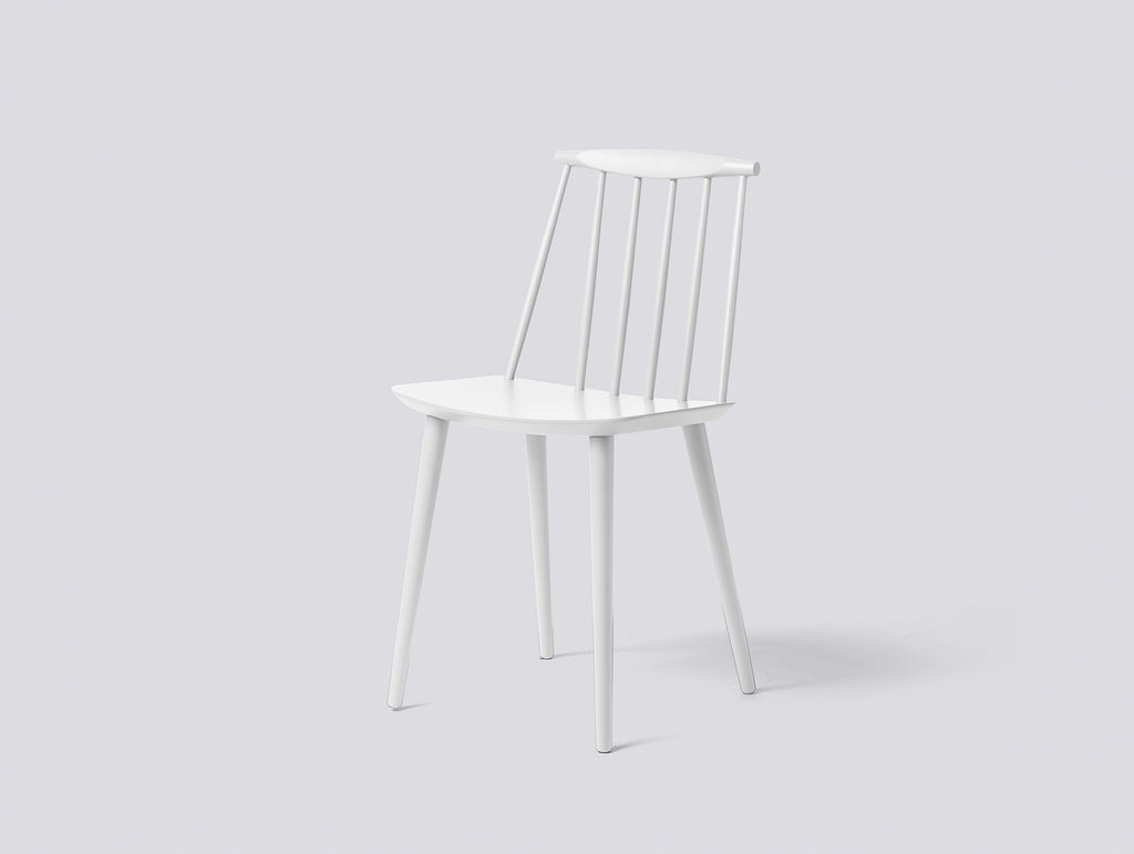 J77 dining chair - White