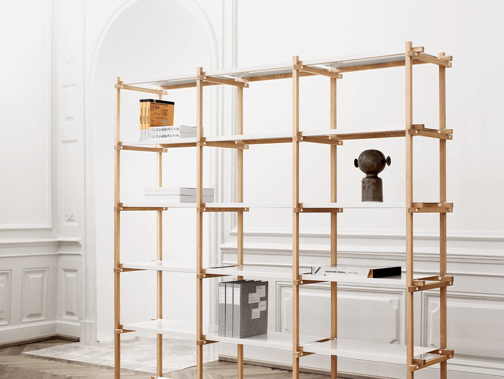 Wonderful Woody Shelves by HAY · Really Well Made MF-56