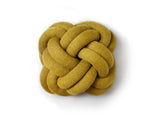 Yellow Knot Cushion by Design House Stockholm