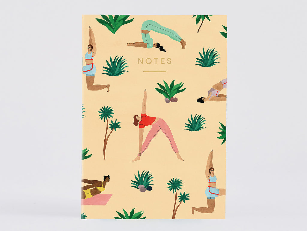 Yoga Notebook by Wrap