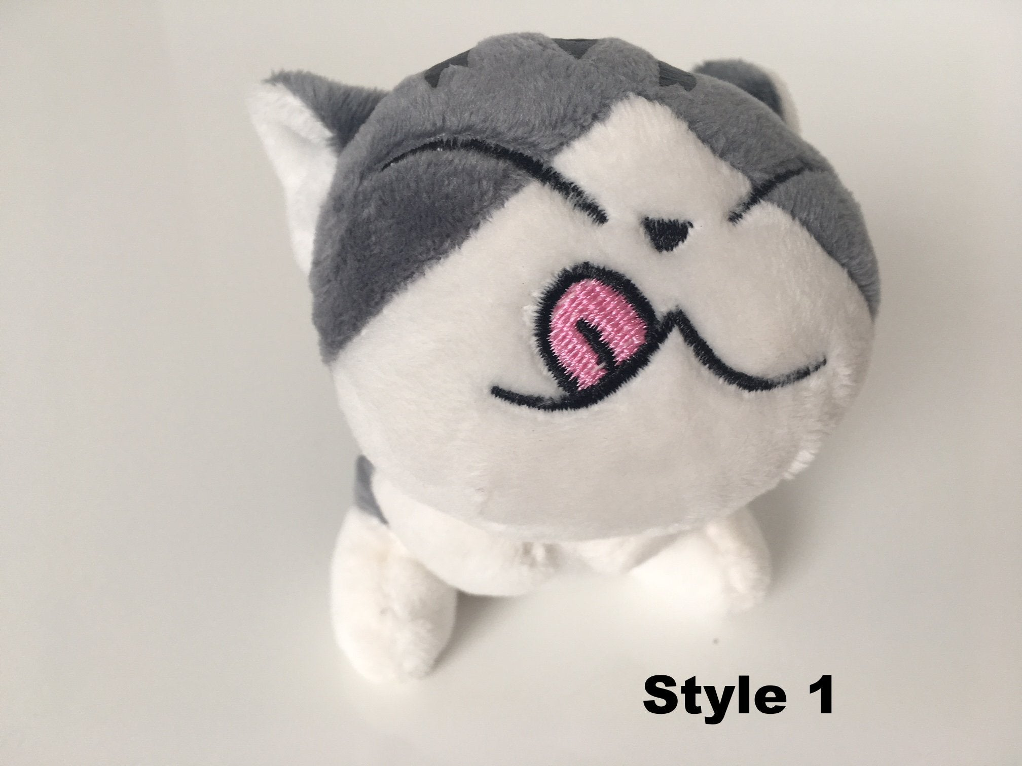 Plush Kitty Keychain