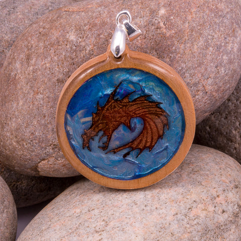 Enchanted Dragon Pendant (#1203)
