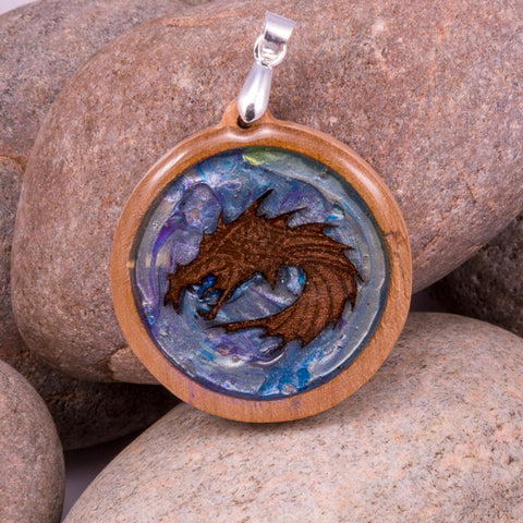Enchanted Dragon Pendant (#1213)
