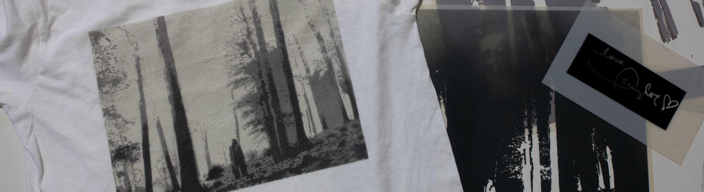 "Stenciling Taylor Swift's ""folklore"" Album Cover on a Shirt"
