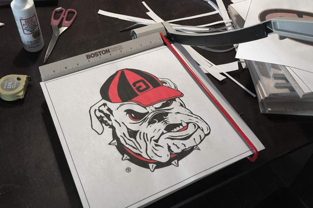Top 10 university of georgia bulldogs diy projects stencil stop top 10 university of georgia bulldogs diy projects solutioingenieria Gallery