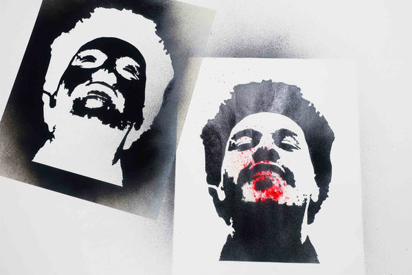 Stencil - Free Download Design  Weeknd and The Tutorial