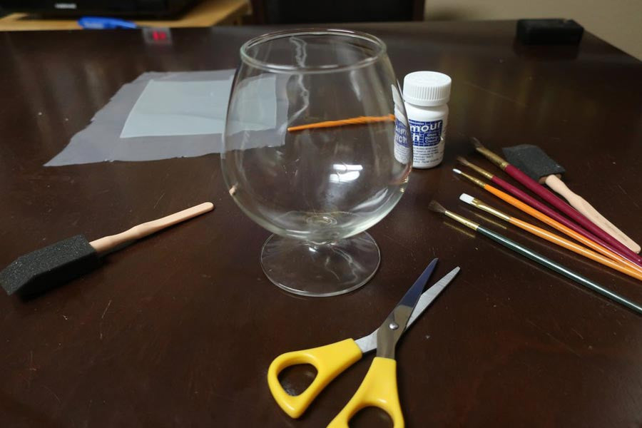 Etched Glass Do It Yourself DIY