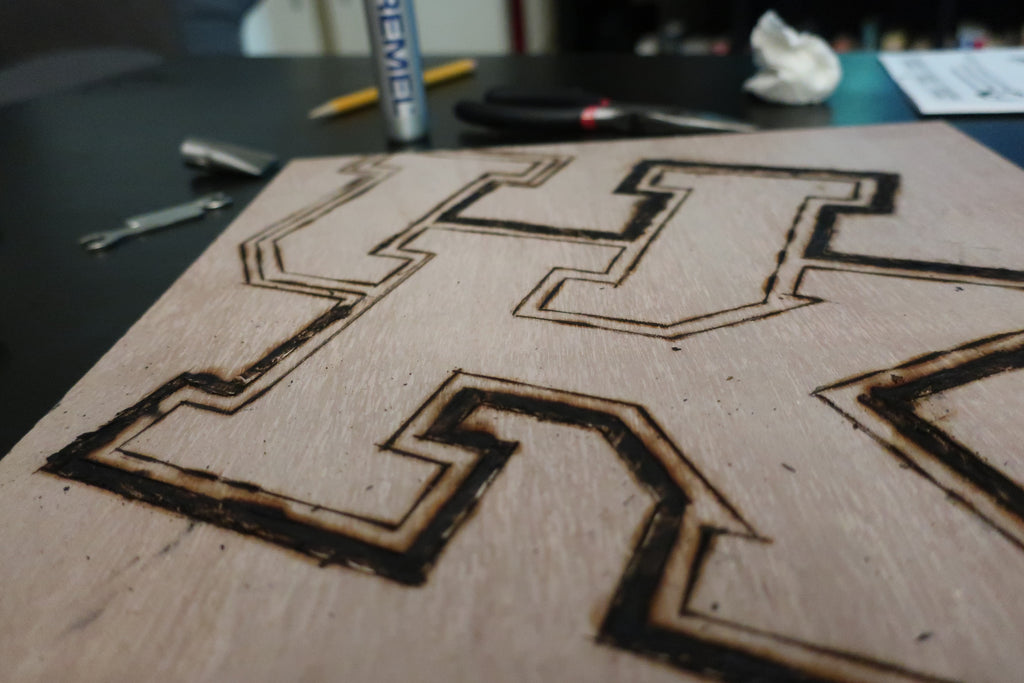 Stencil Stop - How to Stencil Letters on Wood