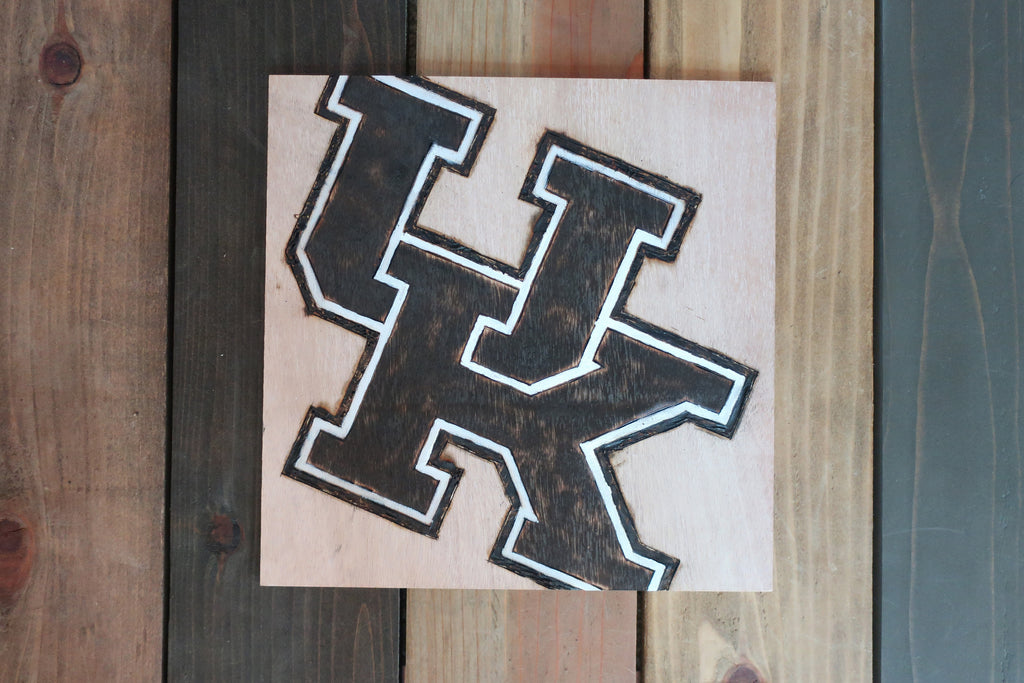 Stencil Stop - Painted Kentucky Wood Sign