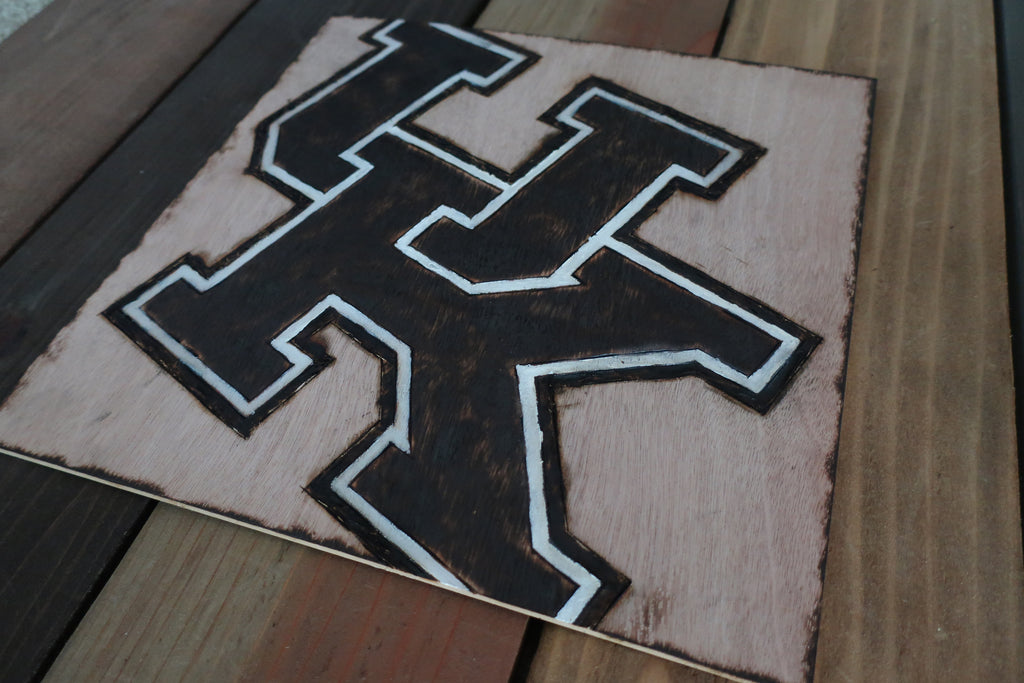 Stencil Stop - UK Wildcats Wooden Sign for Wall Hanging