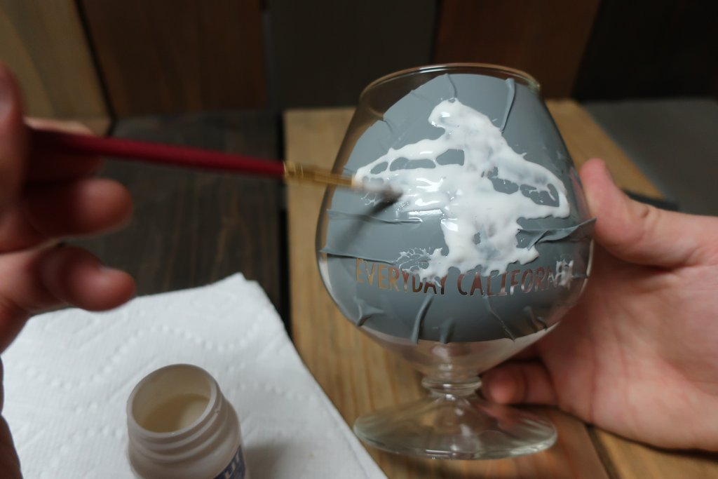 Stencil Stop DIY Etched Glass