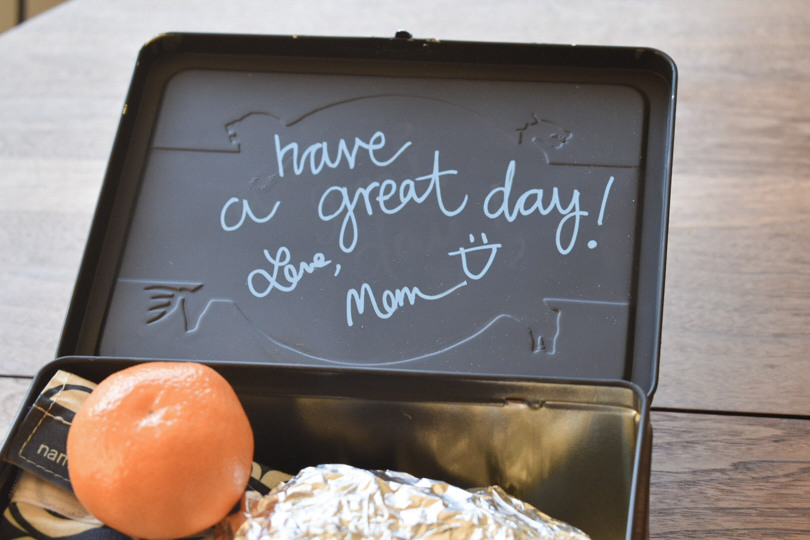 Stencil Stop - Chalkboard Lunchbox DIY Project