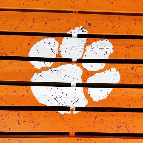 Stencil Stop Clemson Pallet Wood Table