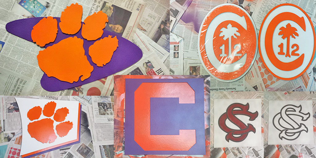 Clemson and South Carolina Signs - The Story of Stencil Stop