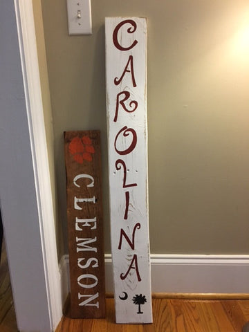 Stencil Stop Pallet Board Signs Clemson South Carolina