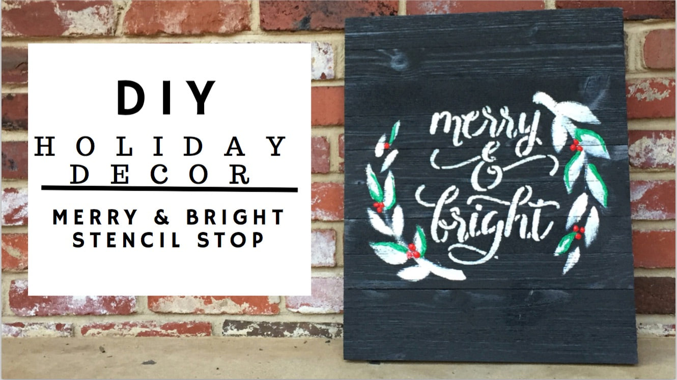 merry&bright banner