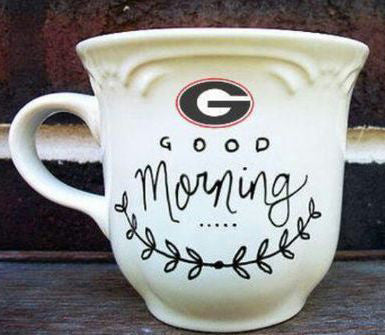 Stencil Stop - Georgia Bulldogs Sharpie DIY Mug
