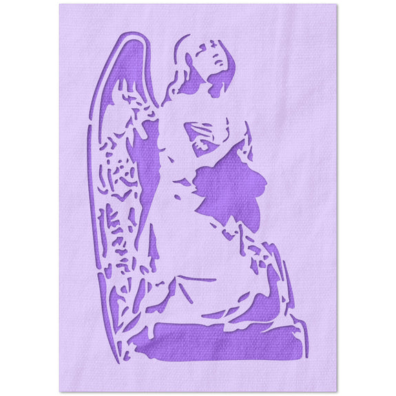Lonely Angel Stencil