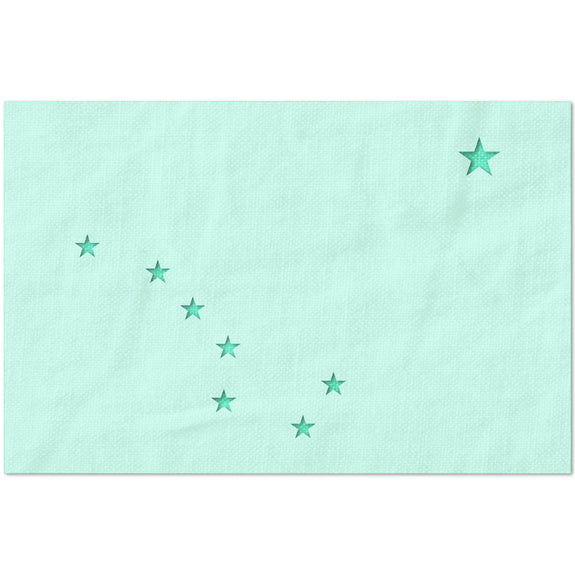 Alaska State Flag North Star and Big Dipper Stencil