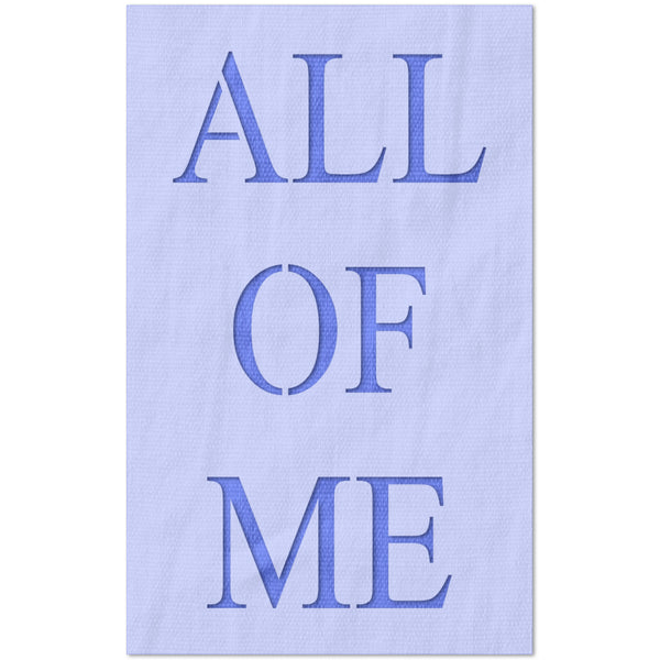 all of me stencil