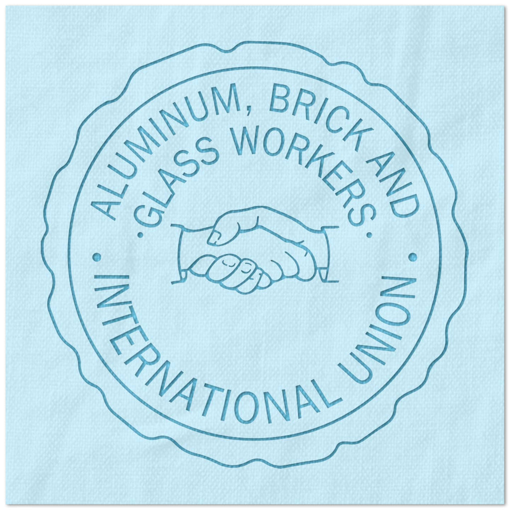 Aluminum Brick and Glass Workers International Union Stencil