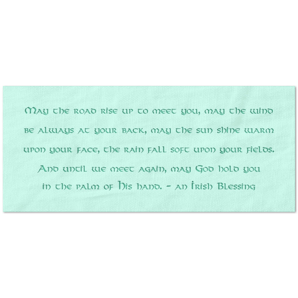 An Irish Blessing Quote Stencil