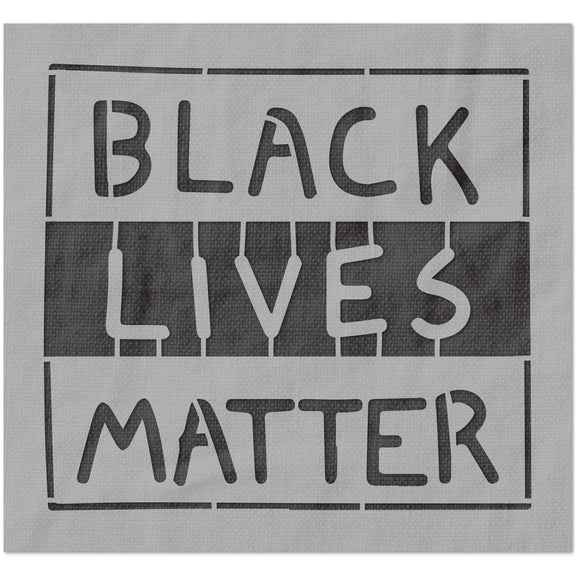 Black Lives Matter Animated Stencil