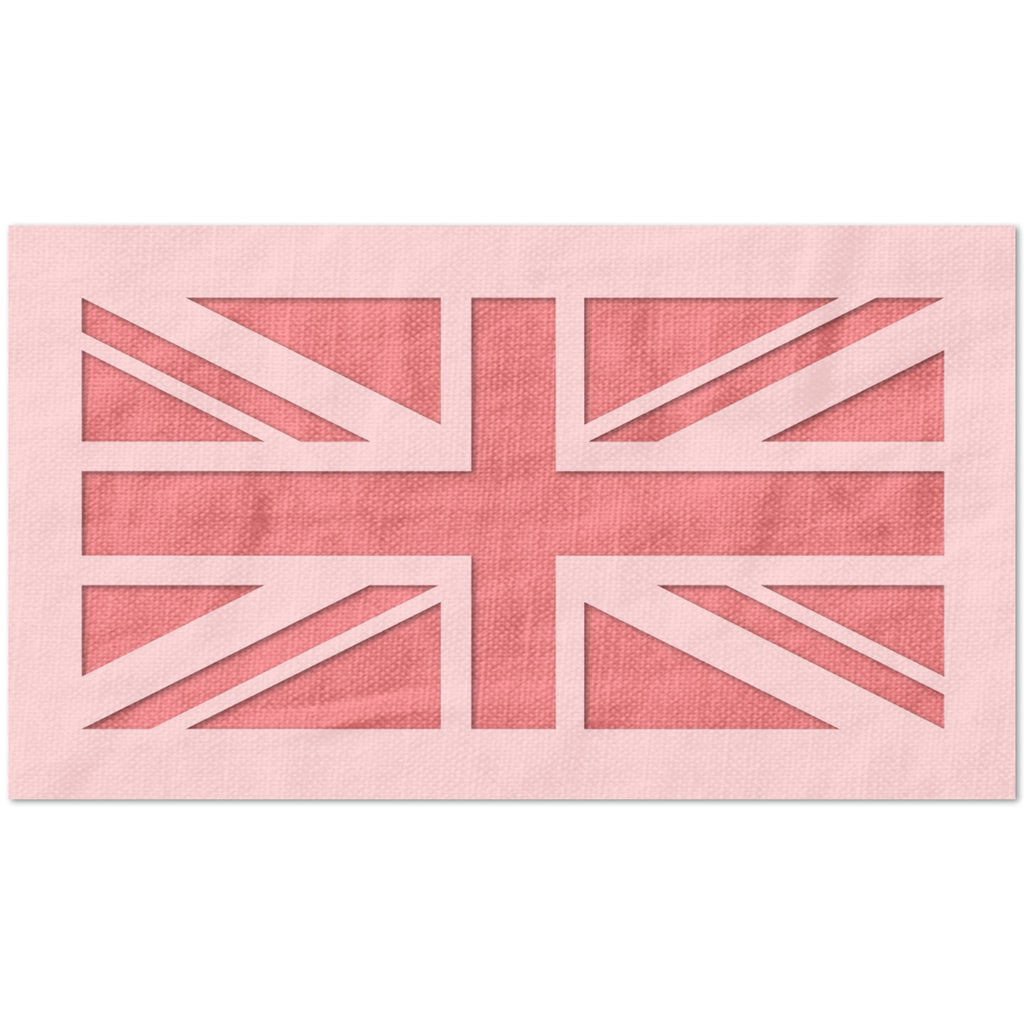 United Kingdom Flag Stencil
